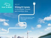 New study shows high potential for EV uptake in Toronto region, but few drivers know about purchase incentives Image